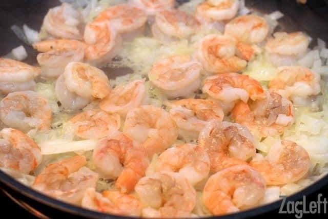 Crustless Creole Quiche - shrimp - ZagLeft
