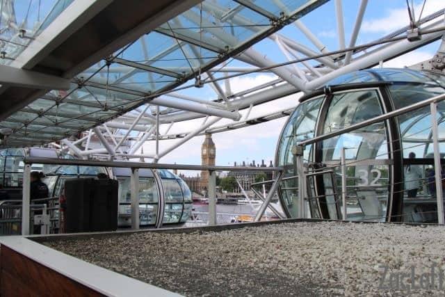 Boarding the London Eye | ZagLeft