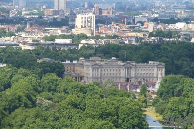 Buckingham Palace from the London Eye | ZagLeft