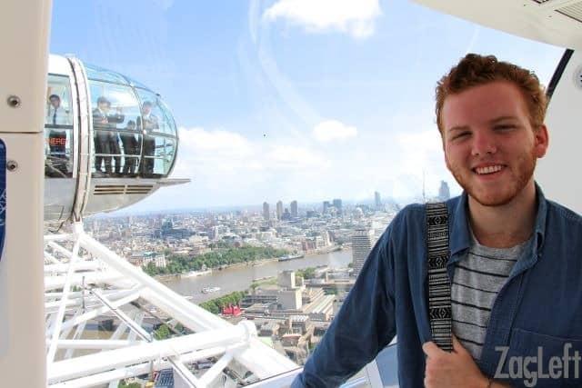Inside the London Eye | ZagLeft