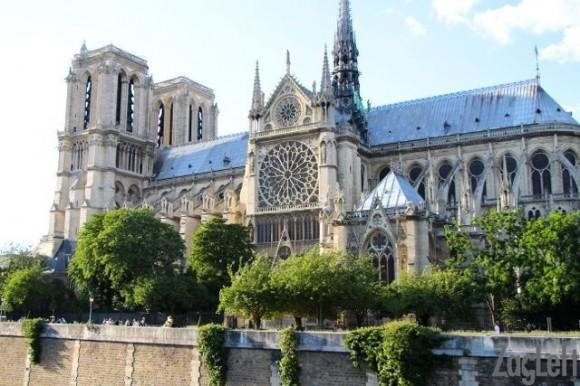 Notre Dame from the Seine | ZagLeft