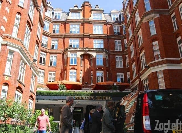 St Ermin's Hotel in London | ZagLeft
