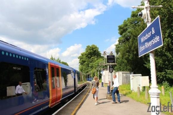 Taking the train to Windsor Castle 1 - ZagLeft