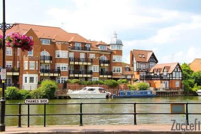 Walking along the River Thames near Windsor Castle - ZagLeft
