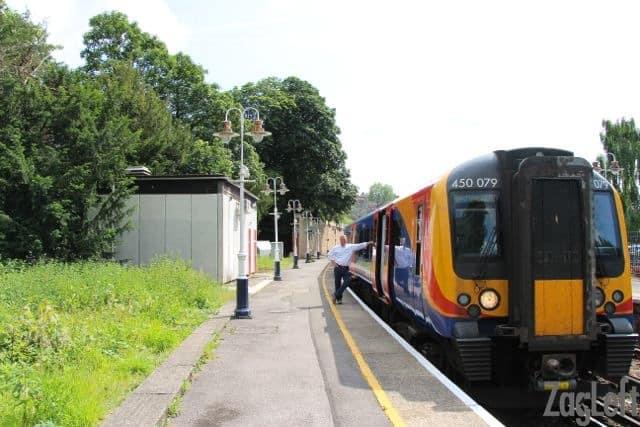 the train to Windsor Castle - Zagleft