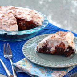 Creamy Double Chocolate Caramelized Banana Cream Pie - ZagLeft
