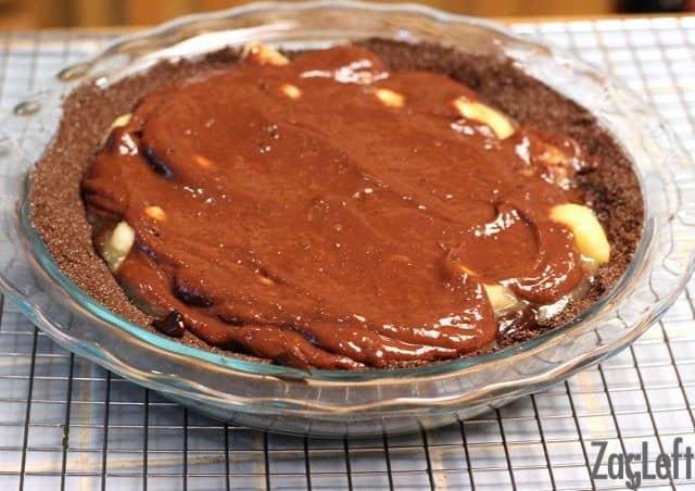 Luscious Chocolate Banana Cream Pie - ZagLeft