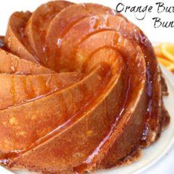 Orange Buttermilk Bundt Cake - a wonderfully moist cake beneath a crunchy, delicate crust. www.zagleft.com