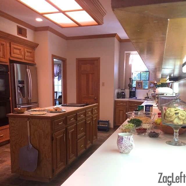 Filming A TV Segment In My Kitchen - ZagLeft