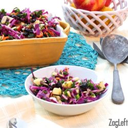 Flavor packed Apple, Kale and Cabbage Salad - ZagLeft