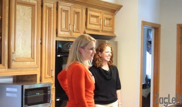 TV Segment filmed in my kitchen -ZagLeft