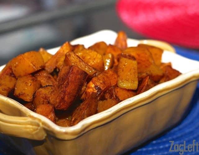 Roasted Sweet Potatoes and Butternut Squash | ZagLeft