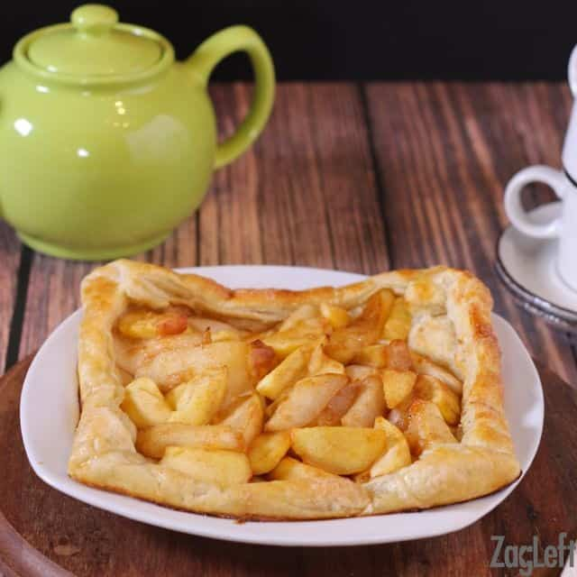 Apple and Pear Galette from ZagLeft