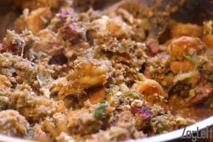 Seafood Stuffed Eggplant Casserole | ZagLeft