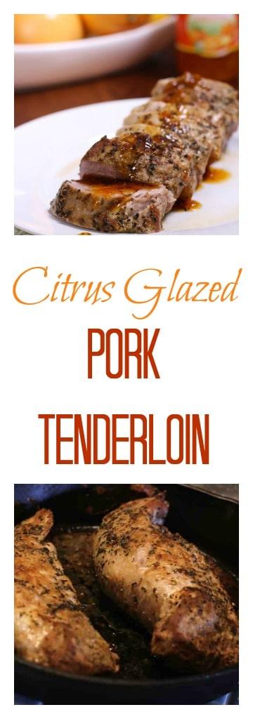 Citrus Glazed Pork Tenderloin | ZagLeft
