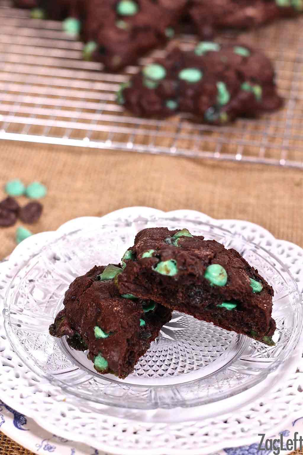 Double Chocolate Mint Scones | ZagLeft