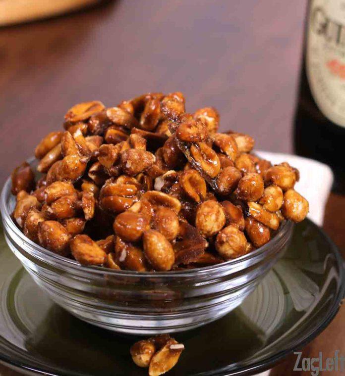 Guinness Glazed Nuts   Zagleft