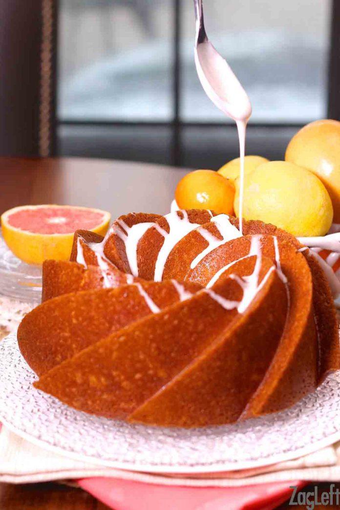 Lemon and Grapefruit Buttermilk Cake | ZagLeft