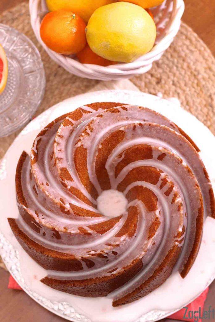 Lemon Grapefruit Buttermilk Cake | ZagLeft