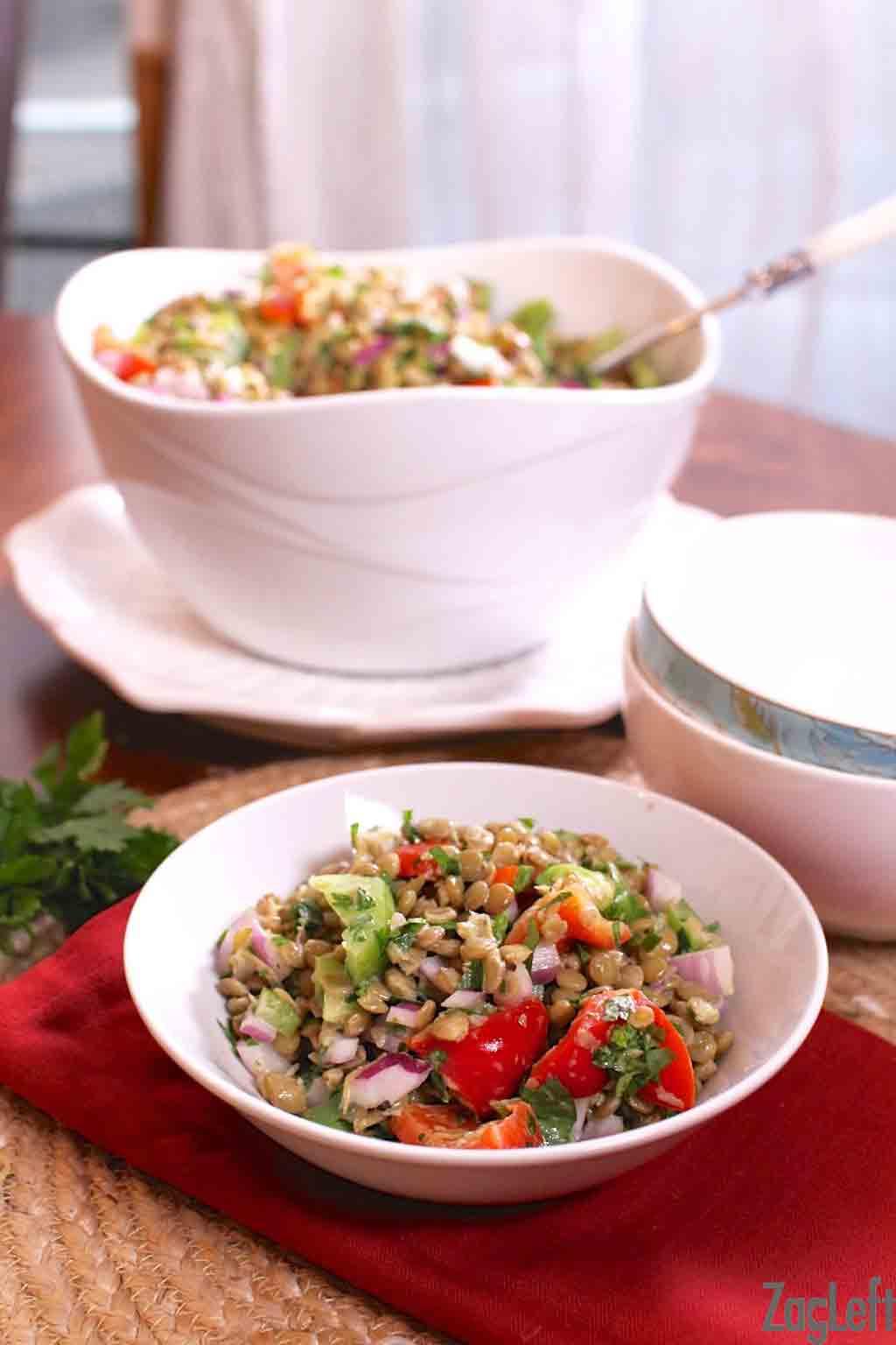 Promo image for Lentil Salad recipe