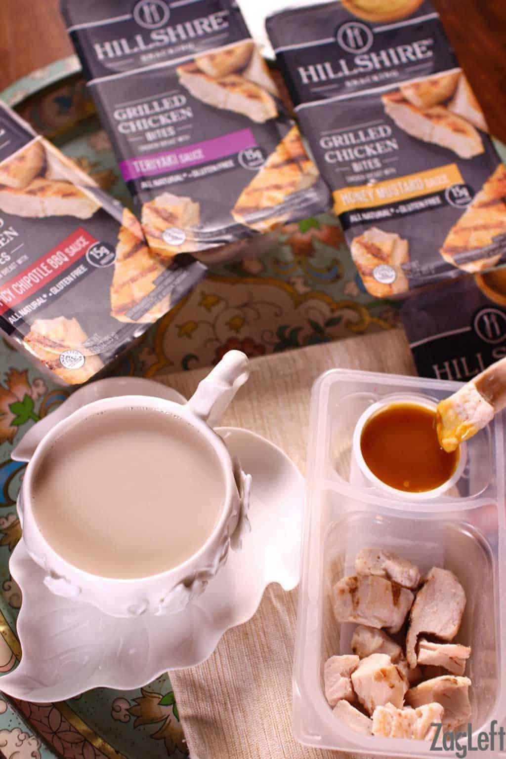 Cinnamon-Star Anise Tea Latte - Earl Grey tea infused with cinnamon and star anise and mixed with milk. Creamy, sweet and perfectly spiced. | www.zagleft.com