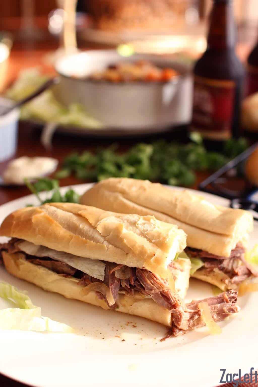 Promo image for Roast Beef Po-boys recipe