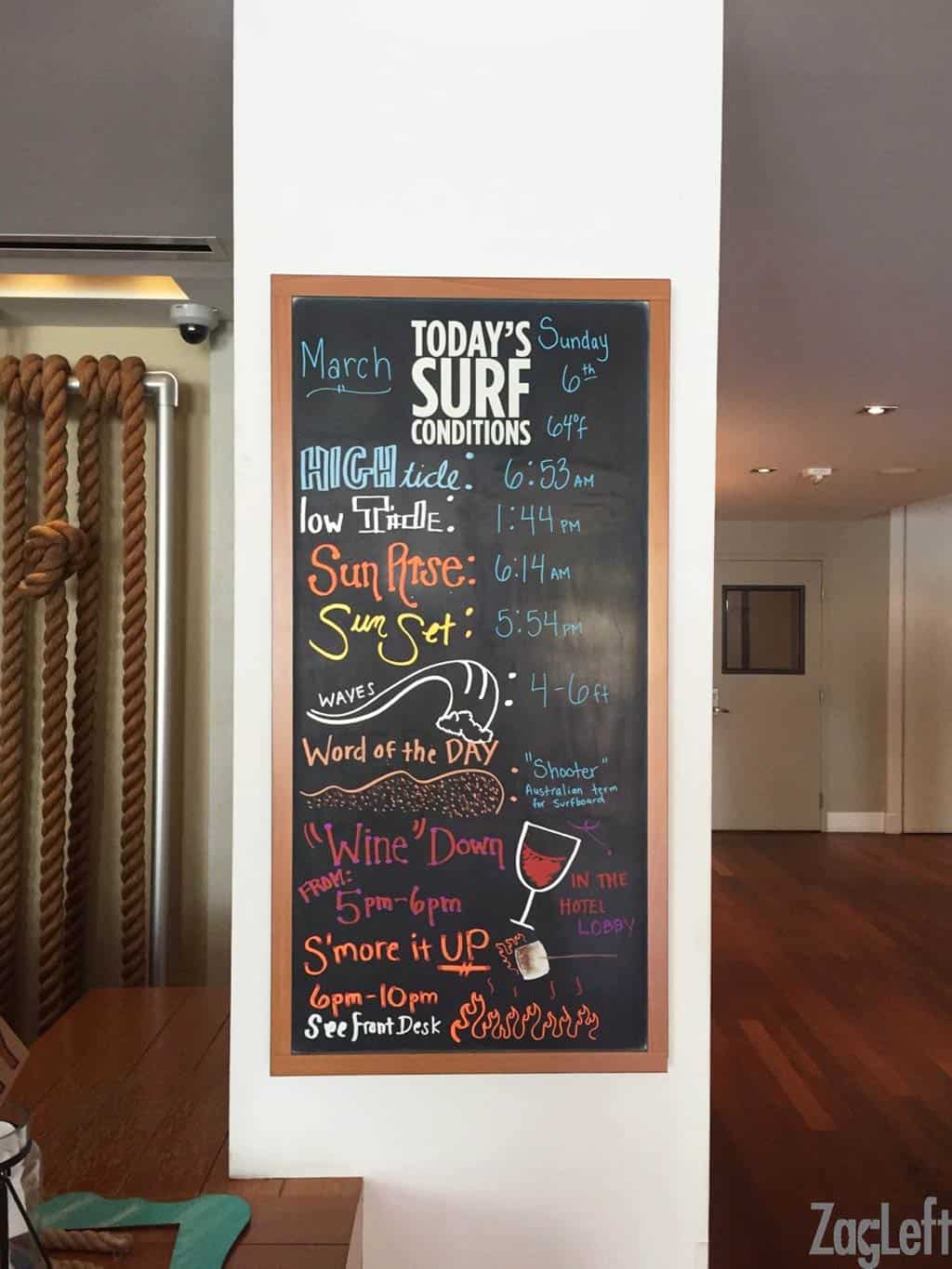 If you're traveling to Southern California, you may wish to consider staying at the lovely Kimpton Shorebreak Hotel in Huntington Beach, California. | ZagLeft