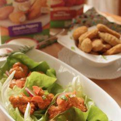 Baked Buffalo Chicken Lettuce Wraps | zagleft.com