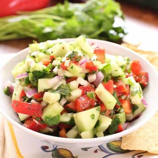Promo image for Cucumber Salsa recipe