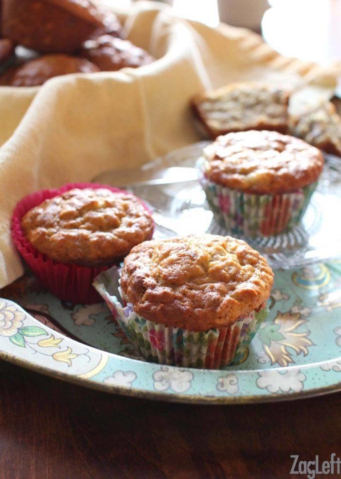Banana Oat Pecan Muffins | ZagLeft
