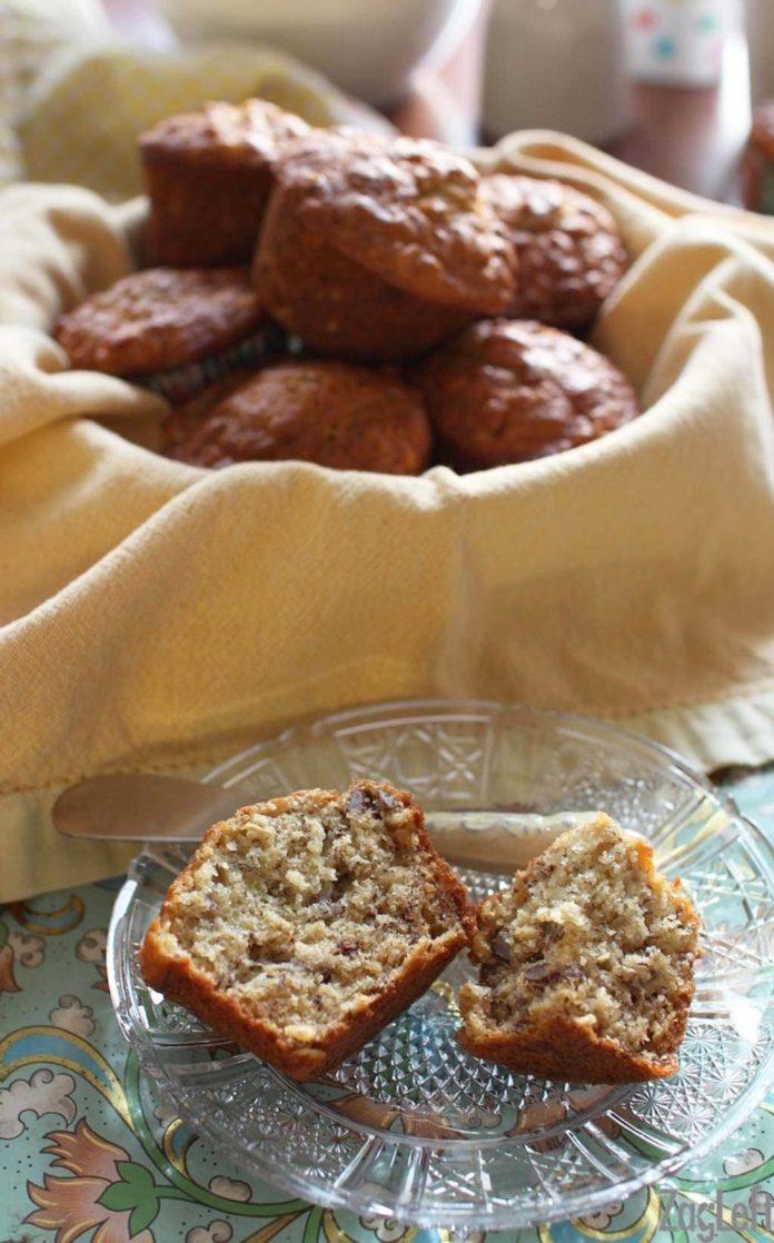 Banana Pecan Muffins | ZagLeft