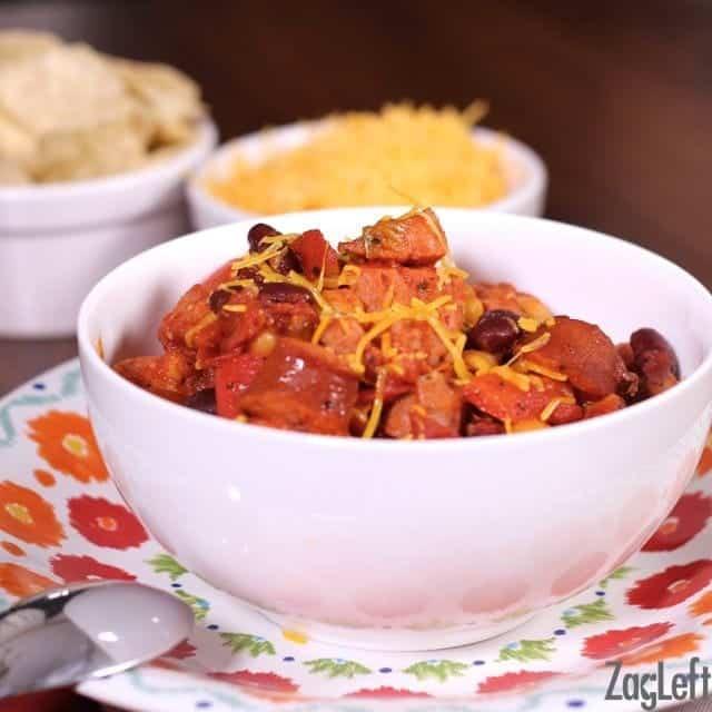 Sausage Chili Recipe | ZagLeft