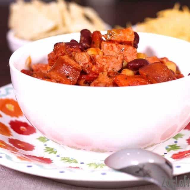 Bean and Sausage Chili | ZagLeft