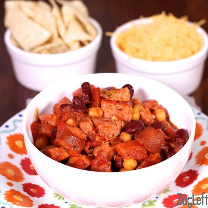 Bean and Sausage Chili Recipe | ZagLeft